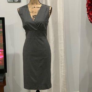 Banana Republic wool blend sheath dress size 8